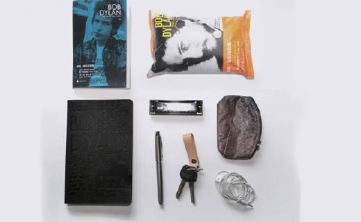 飞地迪伦手账:烫金黑工艺图案设计,PU皮封面方便携带