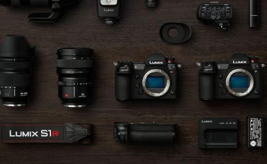 新参者!松下发布Lumix S1/S1R全幅微单相机:徕卡L卡口,1.68万起