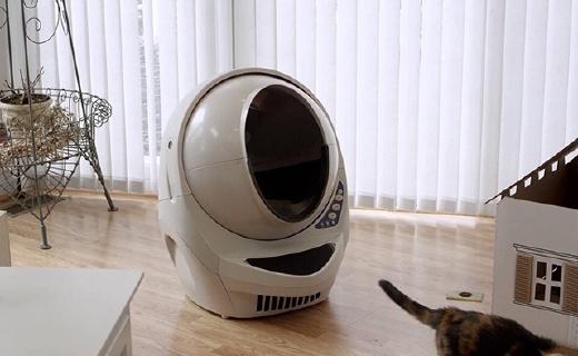 自动清理猫粑粑,这款猫厕所终结你的铲屎生活
