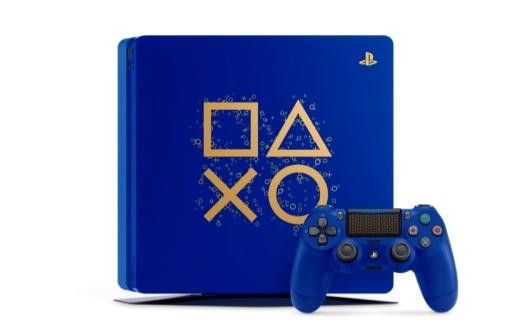 """索尼推出 """"PS4 DAYS OF PLAY 限量版"""" ,深蓝机身 双手柄套装售价2399元"""