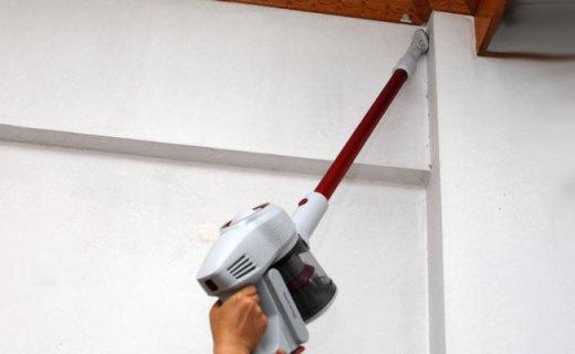加长配件让你轻松打扫屋顶灰尘 ,莱克吉米无线吸尘器测评