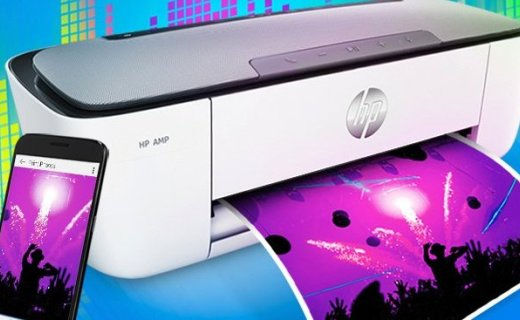 惠普音响打印机:打印、音响合二为一,高效生活一机搞定
