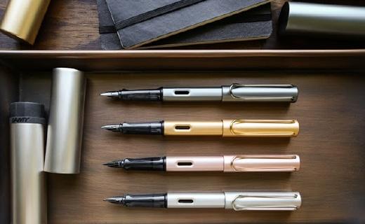 凌美Lx系列钢笔:磨砂拉丝,手感甩Safari系列几条街