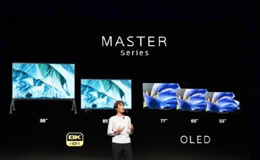CES展会索尼发布8K Z9G和4K A9G电视:新一代画谛旗舰