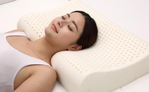 30棵橡胶树原液做的乳胶枕,一晚上就睡服你