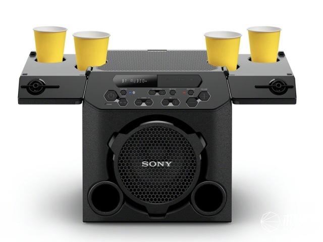 SONY发布蹦迪专用型户外音响,最大亮点是……能放4个啤酒杯?