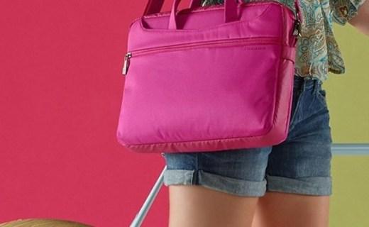 托卡诺WO2-MB电脑包:尼龙材质舒适耐磨,纯色搭配简约时尚