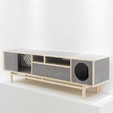 吱音 融光 白橡木 电视柜