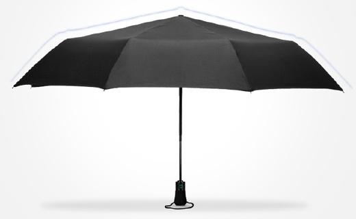 英国王室御用雨伞,大伞面遮三人还抗强风!