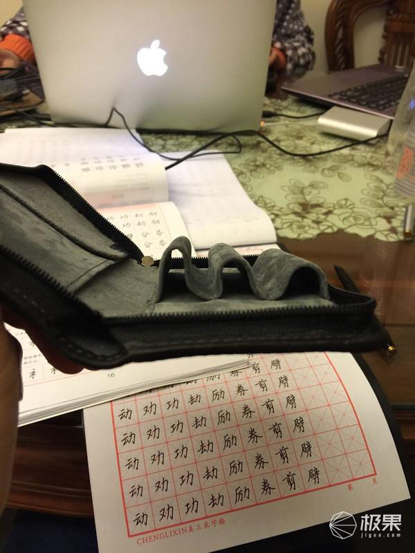百乐(PILOT)PensemblePSPC皮质三支装笔袋