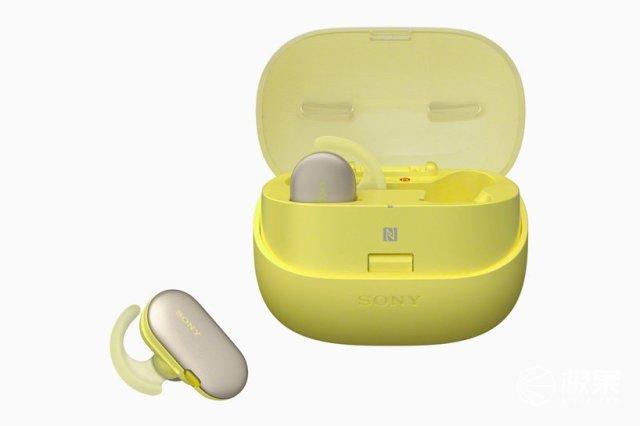 索尼降噪新品:内置播放器的耳机,续航强悍支持防水