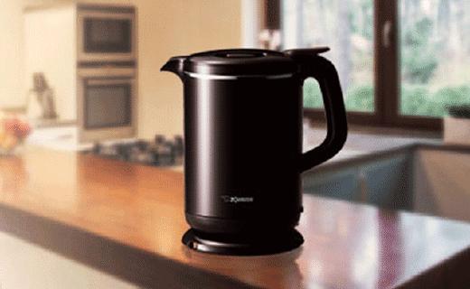 象印快热智能保温电水壶,倾倒还不会洒出来