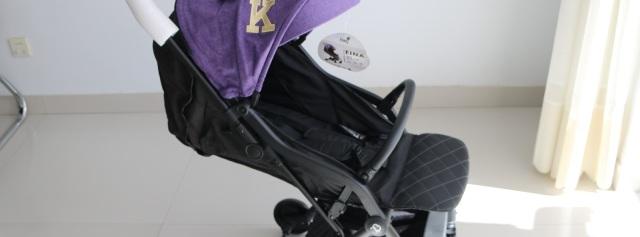 一键收合,宝宝行走的小床:kiwy婴儿推车体验
