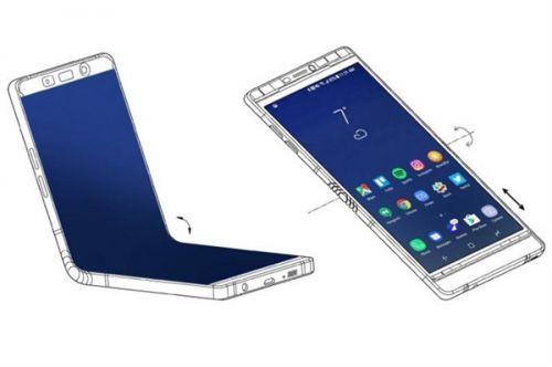 三星自曝GalaxyX:屏幕能内向直接对折!