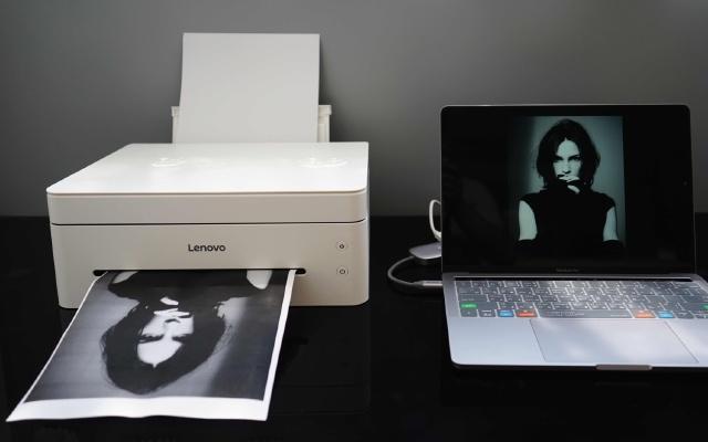 WIFI连接远程打印,联想小新一体打印机体验