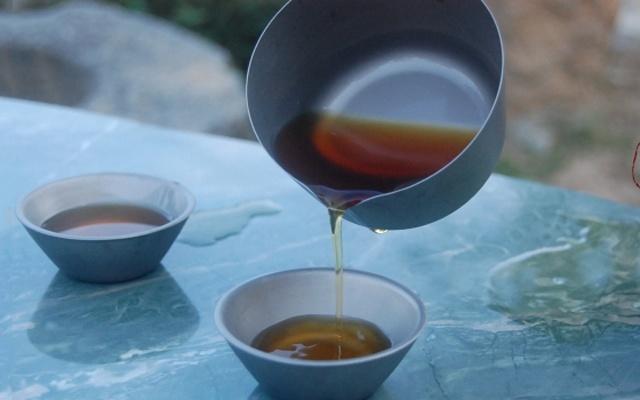 """""""钛""""功夫茶具,量轻便携,户外也能喝杯好茶 — 火枫般若钛茶具体验"""