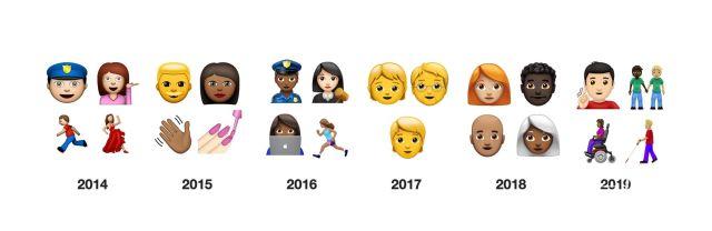 Emoji表情再更新,这些新花样趣味十足!