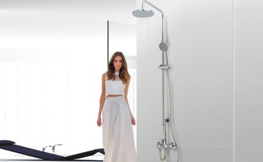 科勒花洒套装:亲氧科技舒适节水,淋浴比泡澡还享受