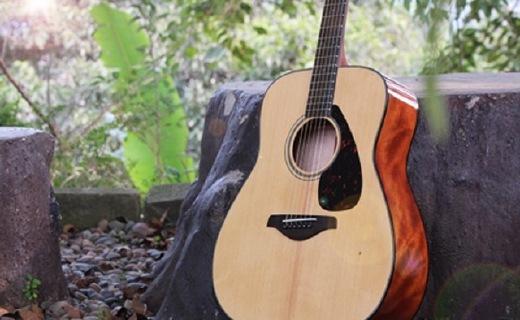 雅马哈FG800MS吉他:单板云杉木电箱琴,吉他入门性价比之选