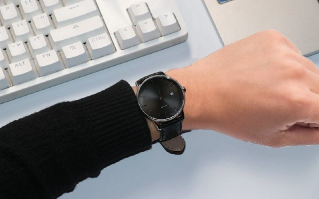 小米有品新成员,全自动男士机械手表,简约时尚,值得拥有