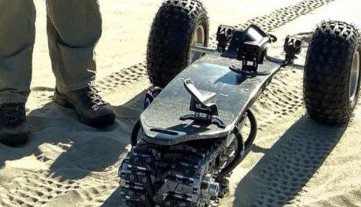 电动滑板车Track1:公路达人,越野怪兽