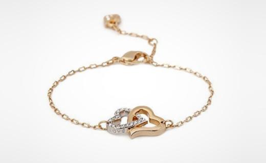 Swarovski心心相扣手链:双心造型浪漫优雅,精致低调提升Level