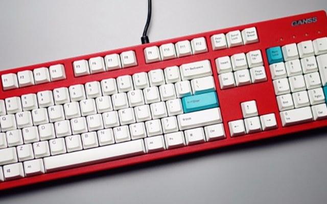 自由搭配按键,让你打造更时尚的键盘效果 —  GANSS高颜值热升华键帽体验