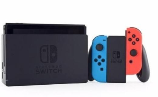 任天堂Switch游戏机 :时尚红蓝配色,智能感应畅玩体验