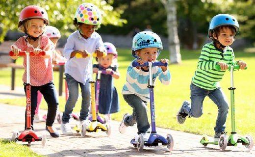 米高滑板車:專利裝置轉彎不摔倒,喬治小王子也在用