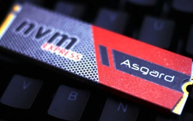 仙宫的速度体验 - Asgard NVMe固态硬盘体验