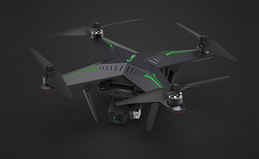 零度智控XPLORER V飞行器:360°环绕拍摄,模块化设计