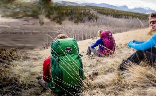 Osprey登山包:尼龙格子布面料,结实耐磨就是能装
