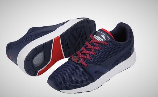彪马XT S运动鞋:网眼鞋面透气性强,六角形结构出色缓震