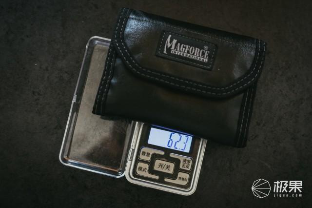 收纳各种小物品,EDC最佳选择,麦格霍斯0269注胶钱包评测