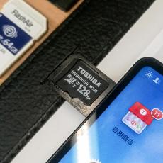 手机内存不够用?秒变128G手机,成本只有二百元,东芝M203测评