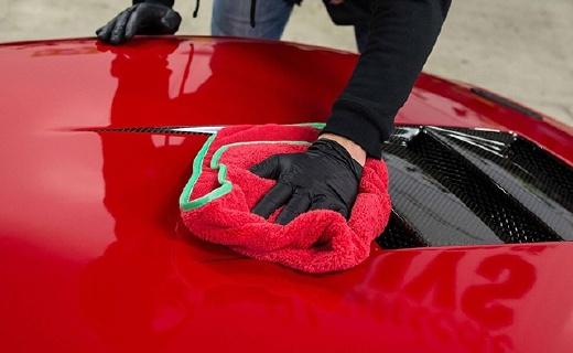 Chemical Guy超细纤维毛巾6件套:双面起绒组织,清洗抛光一条搞定