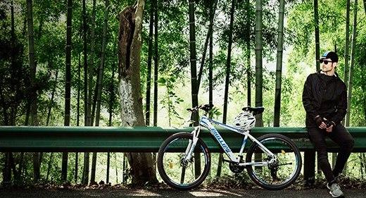 菲利普YE880 27速自行车:特别车架设计轻而稳,骑行超畅快