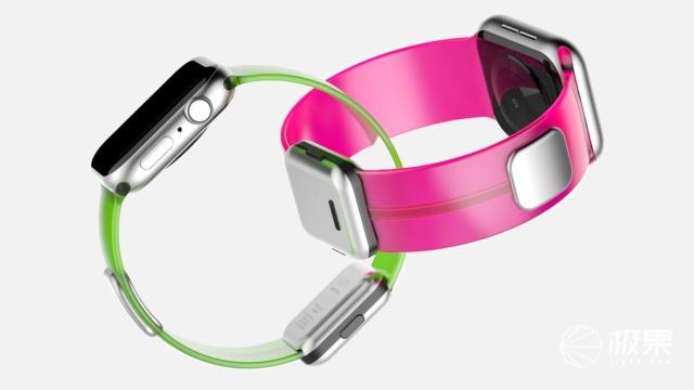 """随身佩戴的体脂秤!AppleWatch第三方""""智能表带""""问世,健康状况一碰即知"""