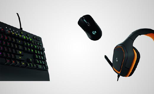 罗技全新系列键鼠耳机,性能稳定设置便捷