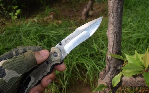 松田菊男折刀:有颜值有锋度,有手感又便携 | 视频