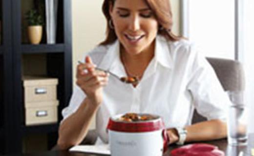 Crock-Pot午餐加热盒:一键加热便携使用,上班族必备