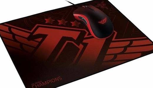 雷蛇携手SK T1战队,发布定制游戏鼠标和鼠标垫