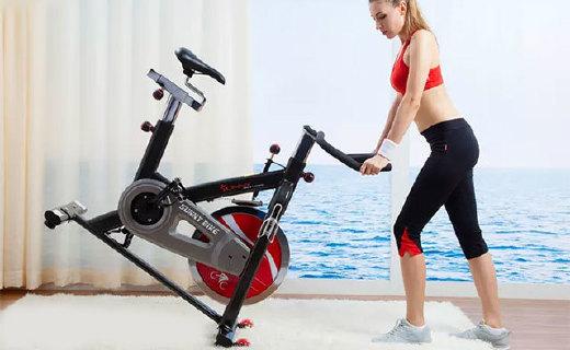 SUNNY健身车:专业级品质,噪声低,懒癌在家轻松减肥