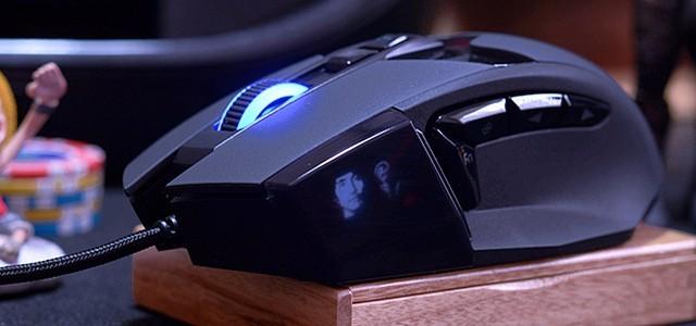 显示屏、按键压力调节,全面进化,王者之争—达尔优EM945鼠标开箱体验