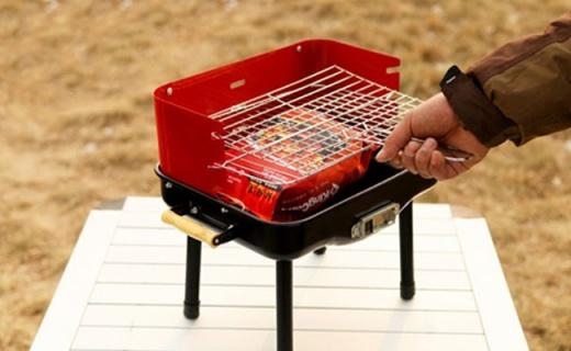 康尔健野KG3721户外烤炉:不锈钢材质轻量便携,可调节火焰大小