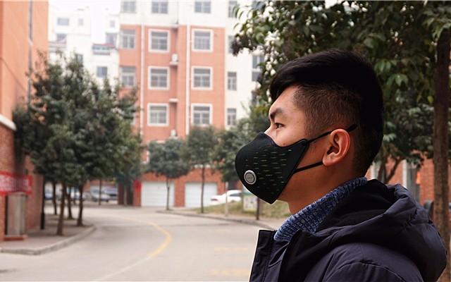 这款AirPOP Active防雾霾口罩,连呼吸都能监控!