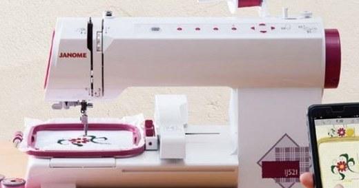 日本推出智能缝纫机,手机APP就能完成刺绣