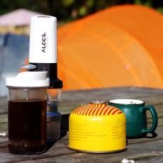户外游也来一杯现磨咖啡吧—爱路客锂电磨豆机/咖啡壶套装