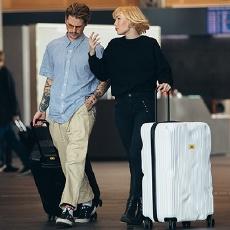 Crash Baggage STRIPE系列 行李箱