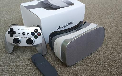 炫酷VR一体机,丰富资源佩戴舒适玩一天都不累   视频